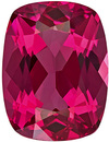 Super Elegant Spinel Loose Gem in Cushion Cut, Rich Rose Red, 8.4 x 6.3 mm, 1.61 carats - SOLD