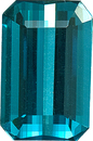 Incredible Finest of Fine Indicolite Tourmaline in Octagon German Cut, 14.2 x 10.1 mm, 8.31 carats