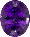 Gorgeous Amethyst Loose Gem in Oval Cut, Vivid Rich Purple, 20 x 16 mm, 18.69 carats