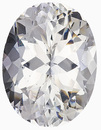 Amazing Large Natural Gemstone for Jewelry - Bright, Well Cut, Colorless & Clean, Oval Cut, 23.03 carats