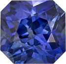 Very Desirable Sapphire Loose Gem in Radiant Cut, Vivid Rich Blue, 5.8 x 5.6 mm, 1.15 Carats - SOLD