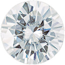 Forever One Moissanite Colorless Round Cut