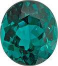 Extraordinary Quality Loose Blue Green Tourmaline Gem in Oval Cut in 8.6 x 7.6 mm, 2.53 carats