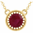 14KT Yellow Gold Ruby