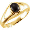 14KT Yellow Gold Onyx Ring
