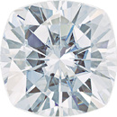 Forever One Moissanite Colorless Cushion Cut