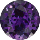 Grade GEM CHATHAM CREATED ALEXANDRITE Round Cut - Calibrated