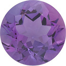 Round Shape Genuine Amethyst Loose  Gemstone   Grade A 0.6 carats,  5.50 mm in Size