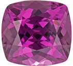 Absolute Gem! Great Unheated East African Rhodolite Stone for SALE! Cushion Cut, 5.16 carats - SOLD