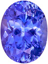 Super Bright and Lively, Rich Cornflower Blue Sapphire Natural Gemstone from Ceylon, Oval Cut, 3.30 carats