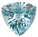 Unbelievable Brilliance - Aquamarine GEM, Trillion Cut, 6.79 carats,