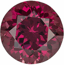 Unmatched Beauty - Finest Unheated Rhodolite Gemstone - for SALE! From Tanzania, Round Cut, 1.48 carats