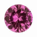 Super Deal On Sapphire Loose Gem in Round Cut, Light Purple Pink, 5.48 mm, 0.7 Carats