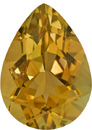 Loose Yellow Beryl Gem German Cut, No Treatment in Bright Rich Yellow Color in 15.3 x 11.1 mm, 7.6 carats