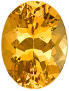 Extremely Well Cut, Bright Topaz Genuine Unheated Gem, Oval Cut, 5.3 carats