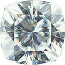 Forever One Moissanite Near Colorless Cushion Cut