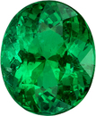 GIA Certified Oval Emerald Loose Gemstone in Intense Rich Green, 9.5 x 7.7 mm, 2.6 carats