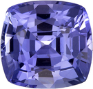 Antique Square Cut Blue Sapphire Cornflower Blue Color Ceylon, 7.6 x 7.3 mm, 2.53 carats