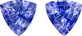 Classic Cornflower Blue Sapphire Pair, Fiery Cornflower Blue, 6.0 mm, 1.6 carats
