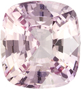 No Heat Peach-Pink Sapphire Gem in Antique Square Cut, 7.9 x 7.3 mm, 2.42 carats
