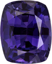 Vivid  Purple Sapphire Loose Gem, Vivid Rich Purple Color in 7.5 x 6.2 mm, 1.85 carats
