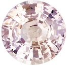 Beautiful No Heat GIA Certified Peach Sapphire Round Cut, Champagne Peach, 7 x 6.9 mm, 1.55 carats - SOLD