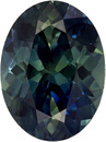 Bright & Lively Oval Cut Blue Green Sapphire Loose Gem, Teal Blue Green, 10.1 x 7.6 mm, 3.24 carats