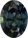 Beautiful No Heat GIA Certified Oval Cut Blue Green Sapphire Loose Gem, Rich Teal Blue Green, 8.3 x 6.2 mm, 1.61 carats