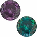 Grade AA - Round Genuine Alexandrite 1.50 mm to 4.00mm