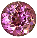 Very Bright and Well Cut Violet Sapphire Natural Gemstone, Round Cut, 2.49 carats