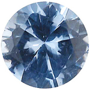 Imitation Aquamarine Round Cut Gems