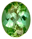 Lovely Green Tourmaline Natural Gemstone for SALE - Super Deal,  Oval Cut, 12.7 x 10 mm, 5.18 carats