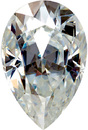 Pear Cut Genuine Charles & Colvard MOISSANITE Grade AAA  5.00 x 3.00 mm to 10.00 x 7.00 mm