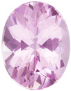 Very Pretty Tourmaline Loose Gem in Oval Cut, Light Baby Pink, 9 x 7 mm, 1.55 Carats