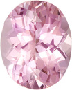 Lively & Bright Tourmaline Loose Gem in Oval Cut, Medium Baby Pink, 11.1 x 8.9 mm, 3.69 Carats