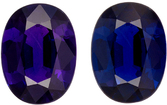 GIA Cert on Color Change Sapphire for Sale in Oval Cut, Purple to Blue Color Change, 7.9 x 5.9 mm, 1.23 carats - GIA Certified
