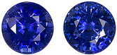 Ceylon Very Pretty Blue Sapphire Genuine 6mm Stones for SALE! Round Cut, 2.27 carats