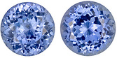 Bright! Unheated Blue Sapphire Genuine Gemstones for SALE, Round Cut, 3.05 carats