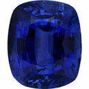 Super Deal On Sapphire Loose Gem in Antique Cushion Cut, Medium Violet Blue, 9.06 x 7.58  mm, 3.56 Carats
