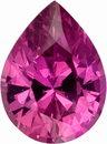 Clean, Bright, Well Cut, Unheated AGL Certified Raspberry Pink Sapphire Natural Gem from Ceylon, Pear Cut, 1.04 carats - SOLD