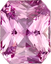Untreated GIA Pure Pink Sapphire Gem in Radiant Cut, 7.64 x 6.14 x 4.23 mm, 1.8 carats - SOLD