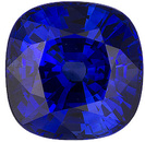 Exceptional Color Clarity Make on Ceylon Blue Loose Sapphire! Antique square Cut, 2.44 carats