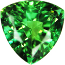 Exceptional Color in Trillion Genuine Minty Green Tourmaline, 11.7mm, 5.93 carats