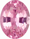 Gloriously Lively, Bright Pink Spinel Unheated Gem from Ceylon, Oval Cut, 1.59 carats