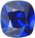 Very Fine Soft Royal Blue Sapphire Certified Gemstone, Super Fine Gem in 9.50 x 8.76 mm, 4.19 Carats - With CDC Certificate - SOLD