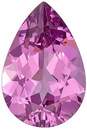 Very Pretty, Excellent Cut Tanzanian Pink Spinel Genuine Gem- Unheated! Pear Cut, 2.9 carats