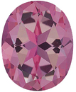 Imitation Pink Tourmaline Oval Cut Stones