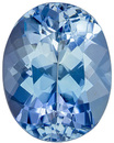 Special Quality Aquamarine Gem, Vivid Medium Blue Color in 8.9 x 7 mm, 1.74 carats