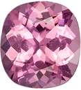 1.65 carats Beauty of a Pink Spinel Gemstone in Cushion Cut, Rich Pink Color in 7.5 x 7 mm