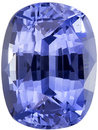 Untreated GIA Certified Blue Sapphire Gem in Cushion Cut, Cornflower Blue, 8.2 x 6.2 mm, 2.00 carats
